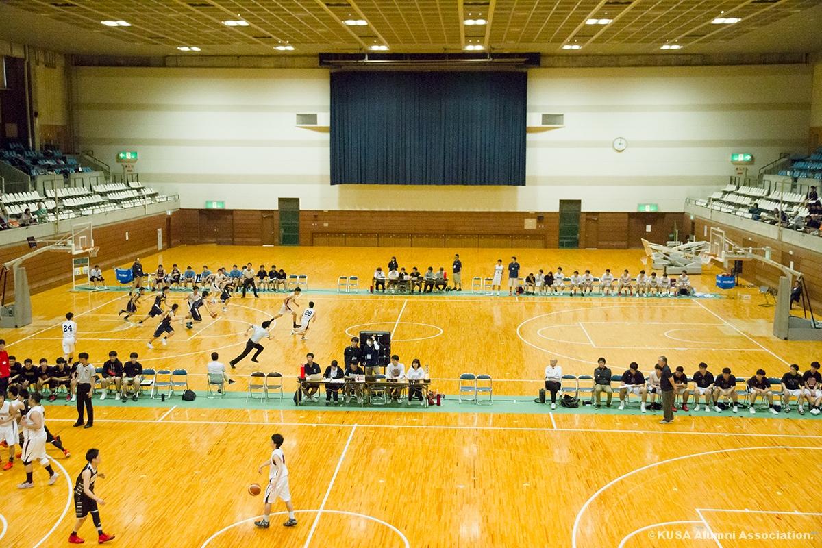 第43回中国大学バスケットボール選手権会場