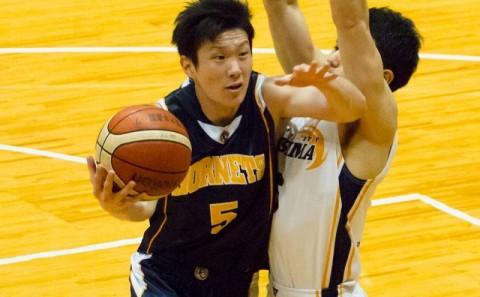 男子バスケットボール部が中国大学バスケットボール選手権春季大会に出場しました。