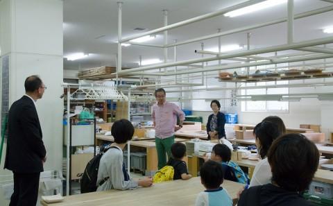 倉敷こども園の園児が陶芸体験に訪れました。