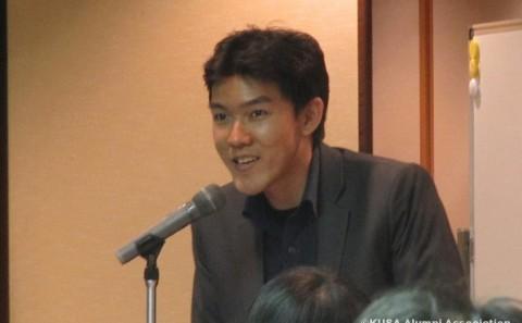 学生が高校生留学フェアin岡山でスピーチをしました。