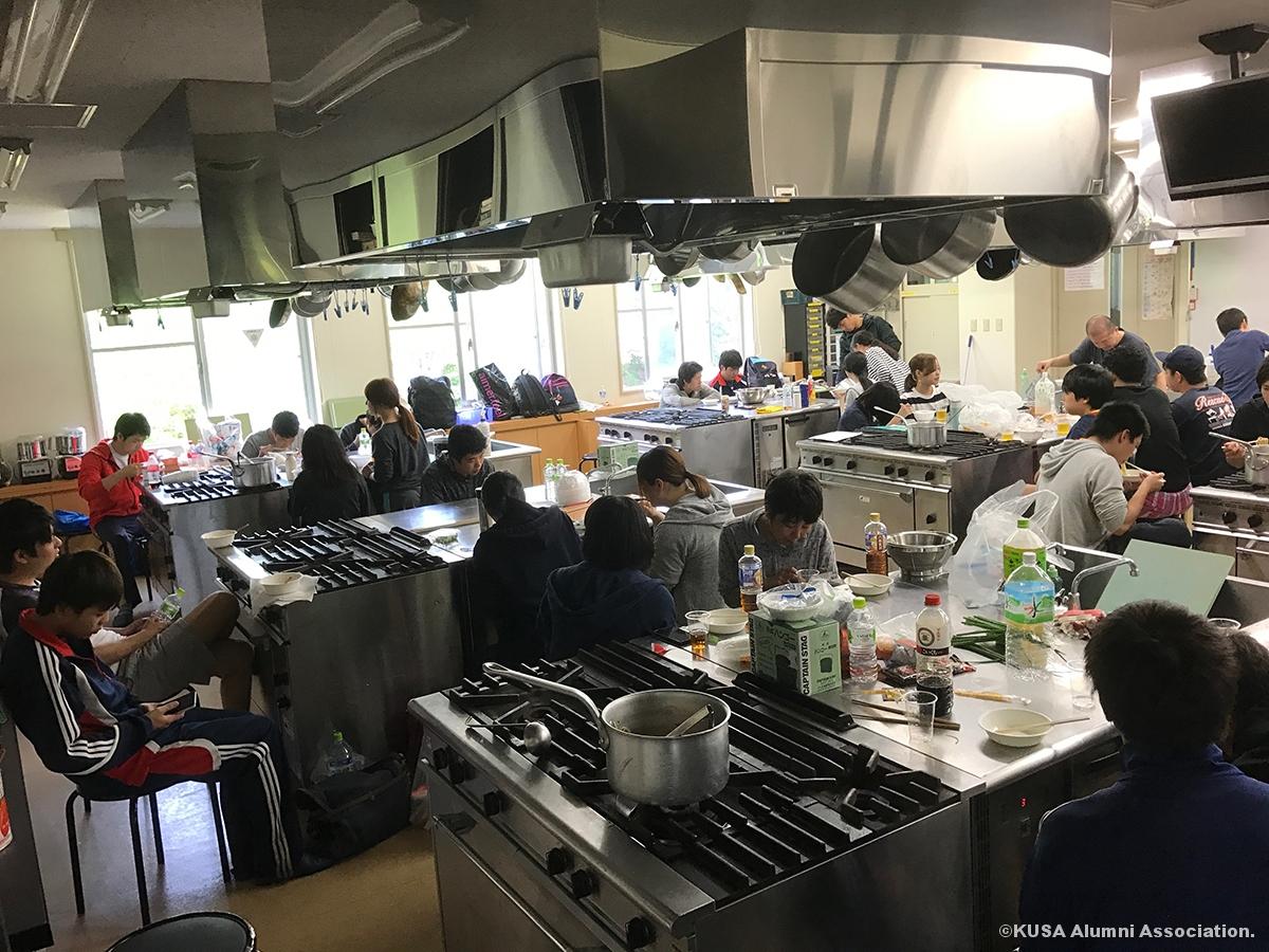 調理室の様子