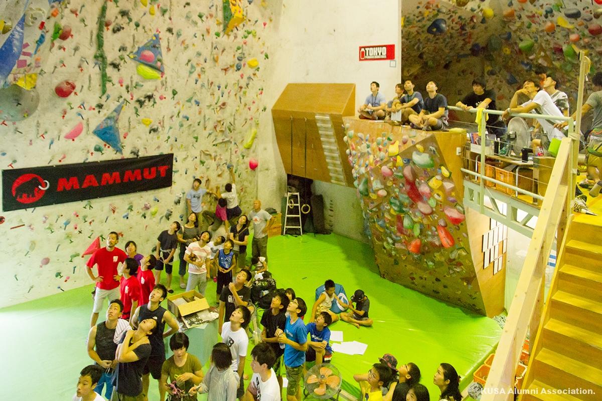 rocks climbing gym内部