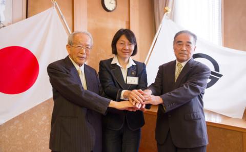 【COC事業】倉敷市長と二大学学長との三者面談について