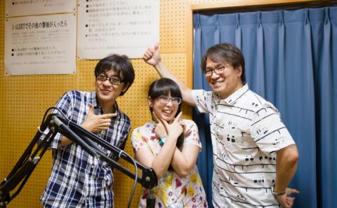 中川教授と山下講師がラジオに出演しました。
