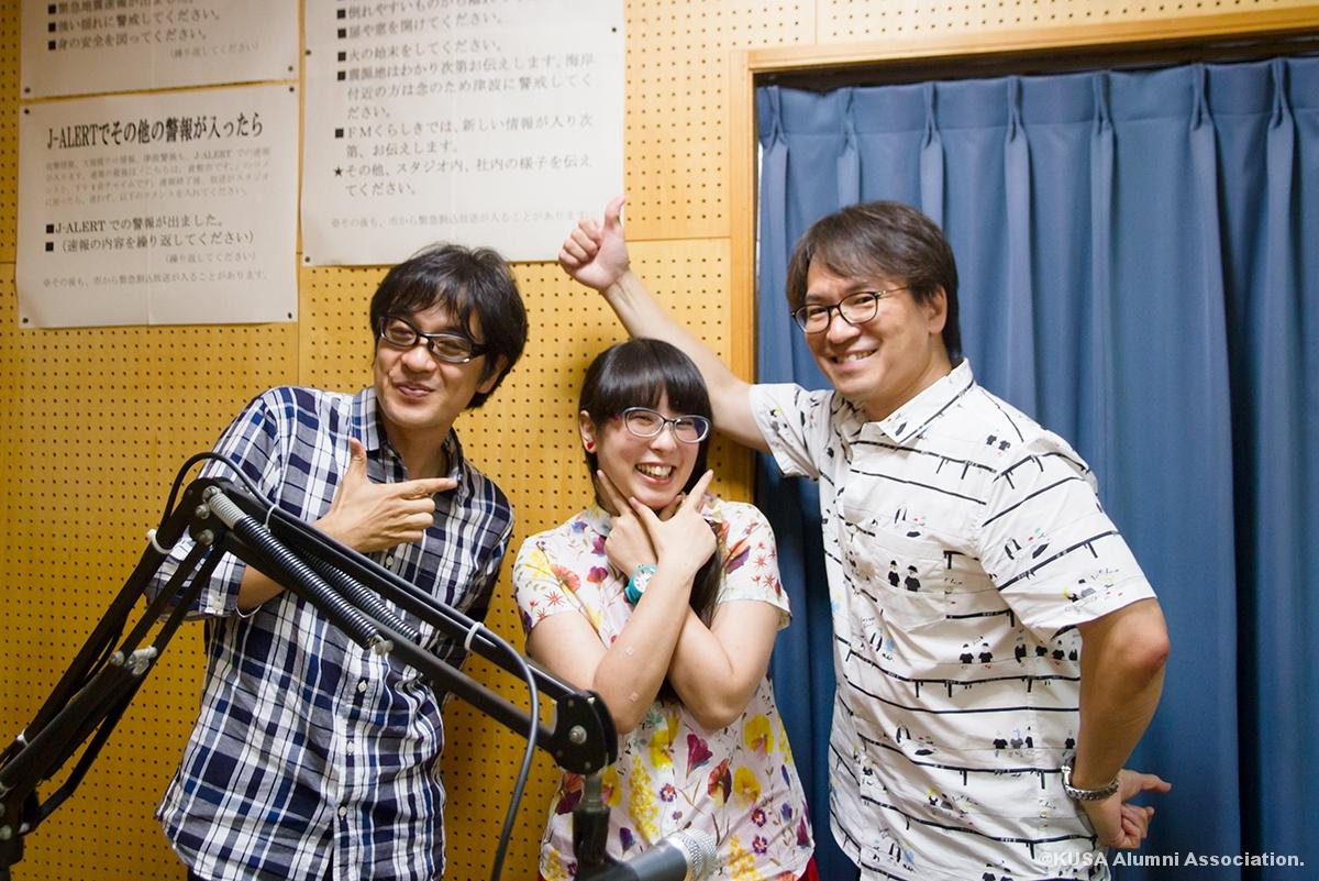 大谷さんと中川教授と山下先生