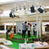 ペーパーファッション展示会の準備