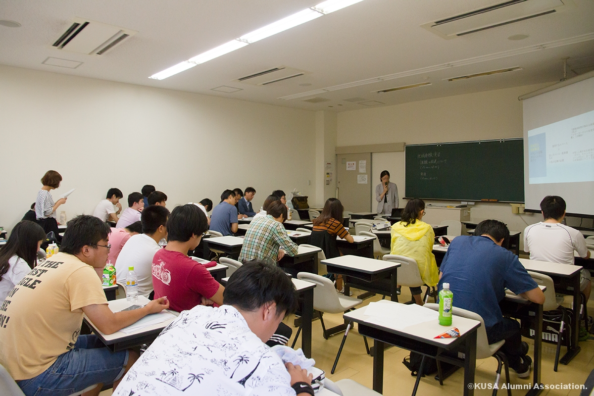学生さん達のプレゼンテーション