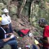岩場の整備活動