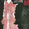 倉敷フアッションフロンティア2017に提出したデザイン画