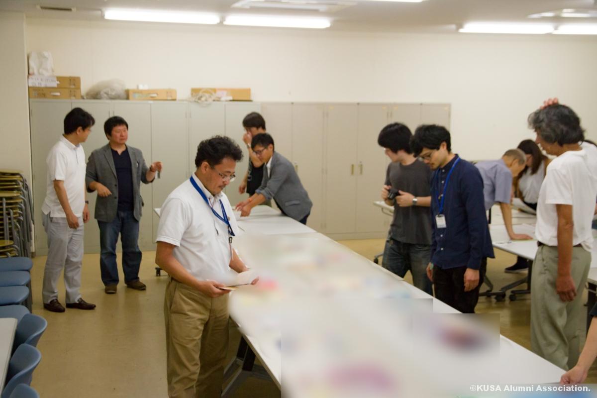 高校生コミックイラストコンクール2017審査会