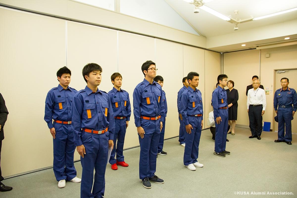 学生消防応援隊