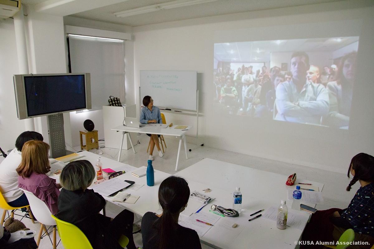 石田先生の講義