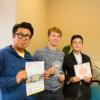 畠中要輔さんとロレンツォ・ピアーニさんと大屋努先生