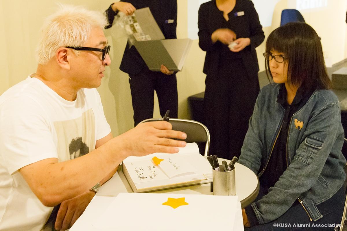 片山正通氏と田中さん