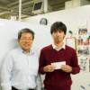 岡教授と山本さん