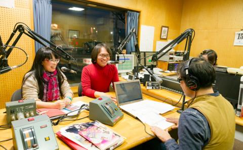 倉魂!高校生コミックイラストコンクールのPRでラジオに出演しました。