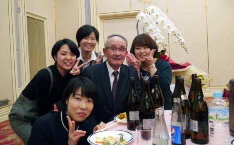 川上雅之教授御退職記念謝恩会について