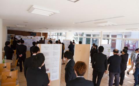 平成29年度生命科学科卒業研究発表会について
