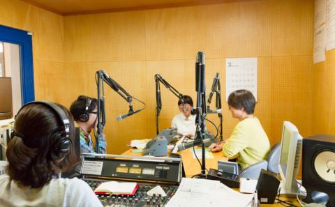 イベントの告知でラジオに出演しました。