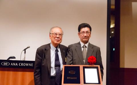 平成29年度ウエスコ財団優秀研究者賞授賞式について