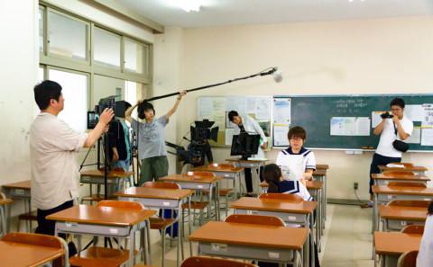 オープンキャンパスのCM撮影について