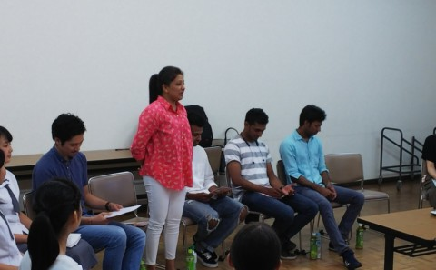 AMDAスリランカ平和構築プログラムの事前説明会について