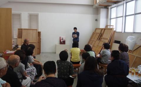 日本画講評会