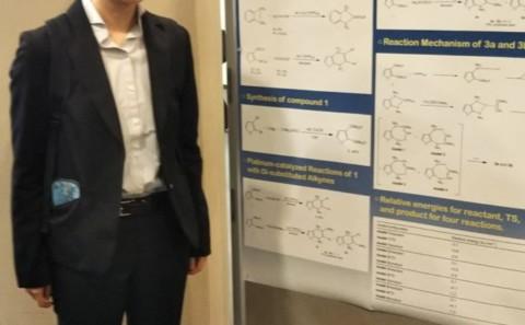 学生が第65回有機金属化学討論会で発表を行いました。