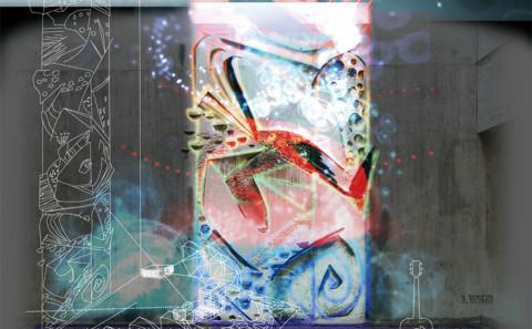 【饗光音宴】天神山文化プラザメインレリーフ「鳥柱」アートプロジェクトのお知らせ