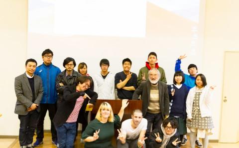 ボローニャ大学生による研究発表会が行われました。