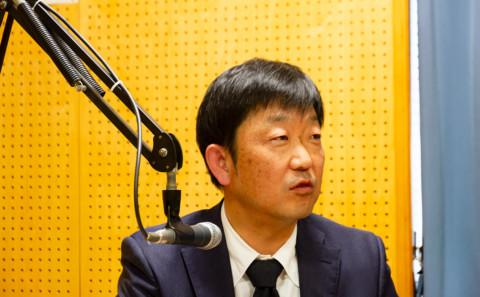 中村副学長のラジオ出演について