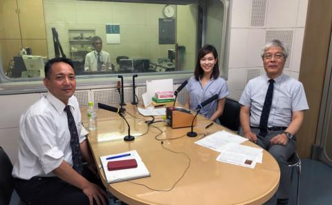 川添教授がラジオに出演します。