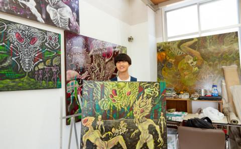 学生の作品がアートフェアアジア福岡2019で入選しました。