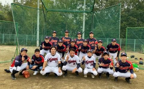 硬式野球部の4年生引退試合が行われました(2019.11.04)