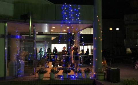 学友会主催「クリスマスイルミネーションイベント」を実施しました。(20191206)