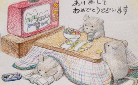 「招き猫と子の年賀状コンテスト」にて芸術学部学生がグランプリ受賞!