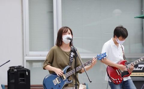 軽音楽部の学内LIVE(20200731)