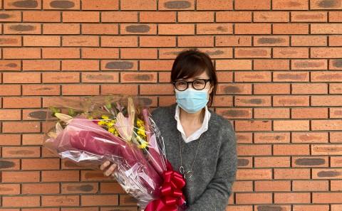 近藤 千晶 教授、お世話になりました。