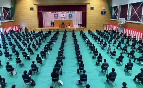 令和3年度入学宣誓式が行われました(2021.04.05)