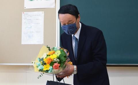 妹尾 護 教授、お疲れ様でした。