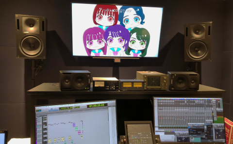 【スマホ啓発アニメ】アフレコ現場に参加!