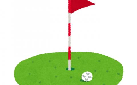 健康科学科1年生桑木さんがゴルフ5レディースに出場しました(2021.09.03-05)