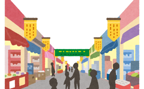 芸術学部学生が「高梁川マルシェ」で作品を展示します!(2021.10.16-.17)